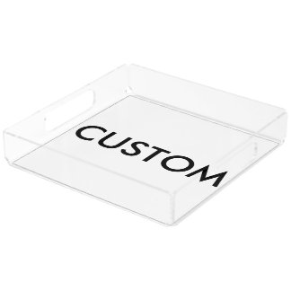Custom Personalized Serving Tray Blank Template