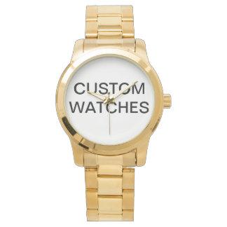 Custom Personalized Stainless Steel Watch Blank