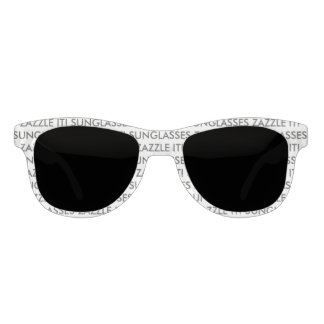 Custom Personalized Sunglasses Blank Template