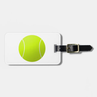 Custom Personalized Tennis Ball Gift Luggage Tags