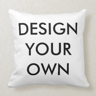 Custom Personalized Throw Pillow Blank Template