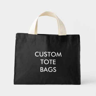 Custom Personalized Tiny Tote Blank Template