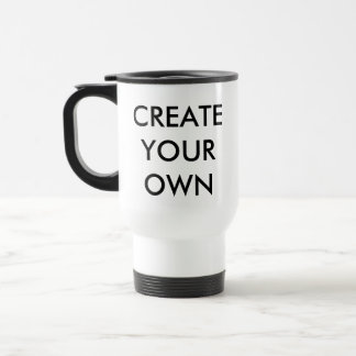 Custom Personalized Travel Mug Blank Template