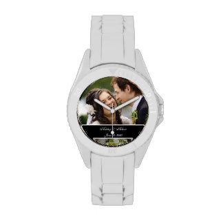 Custom Personalized Wedding Photo Keepsake Watches