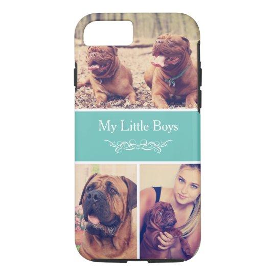 Custom Pet Dog Instagram Photo Collage iPhone 7