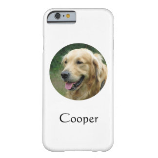 Custom pet iPhone case | Pet photo and name
