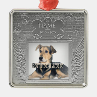 Custom Pet Memorial Christmas Ornament