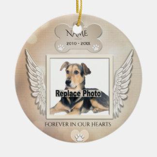 Custom Pet Memorial Christmas Ornament