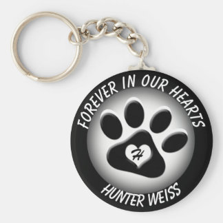 Custom Pet Memorial Key Ring