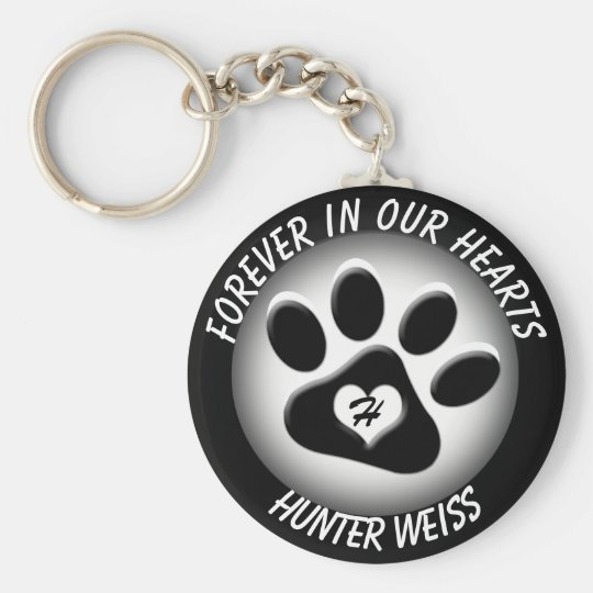 Custom Pet Memorial Key Ring