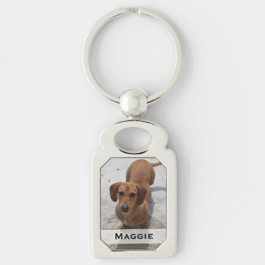 Custom Pet Photo Key Chain