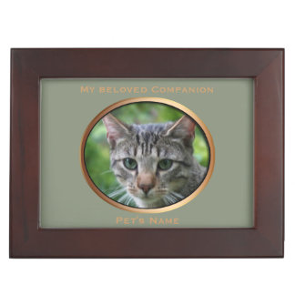 Custom Pets Memory Keepsake Box 1 Photos Poem