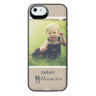 Custom Phone with Family Kids Baby Personal Photo iPhone 6 Plus Case