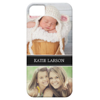 Custom Photo and Monogram Personalized iPhone 5 Cover