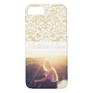 Custom photo and text iPhone 8/7 case