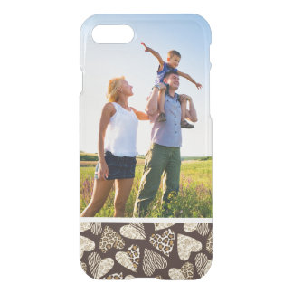 Custom Photo Animal skin with hearts iPhone 8/7 Case