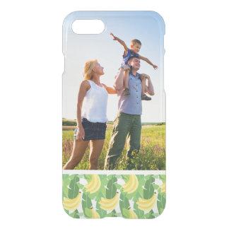 Custom Photo Banana Leaves And Fruit Pattern iPhone 8/7 Case