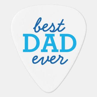 "Custom Photo ""Best Dad Ever"" Guitar Pick"