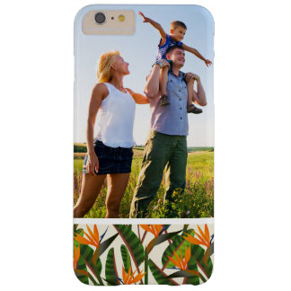 Custom Photo Bird Of Paradise Flower Pattern Barely There iPhone 6 Plus Case