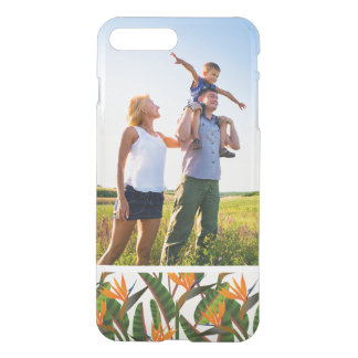 Custom Photo Bird Of Paradise Flower Pattern iPhone 8 Plus/7 Plus Case