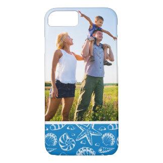 Custom Photo Blue Beach Pattern iPhone 8/7 Case