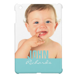 Custom Photo Blue iPad Mini Case