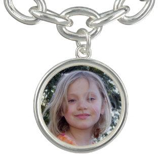 Custom Photo Charm Bracelet