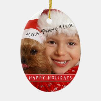Custom Photo Christmas Christmas Tree Ornaments