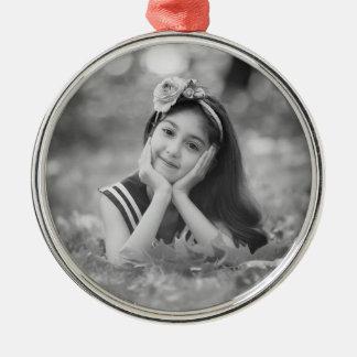 Custom Photo Christmas Ornament