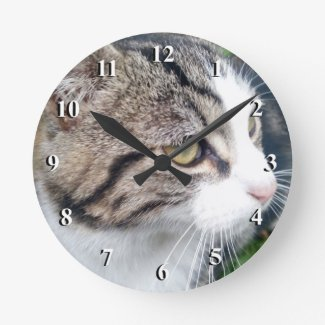 Custom photo clock