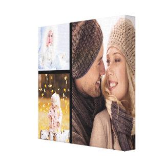 Custom Photo Collage Canvas - Black Frame Canvas Print