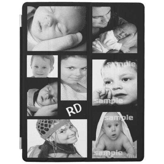 Custom Photo Collage Customisable iPad Cover