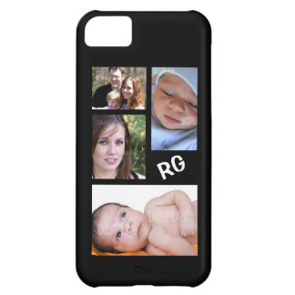 Custom Photo Collage Customizable iPhone 5C Case