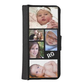 Custom Photo Collage Customizable iPhone 5 Wallet