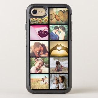 Custom photo collage OtterBox symmetry iPhone 7 case