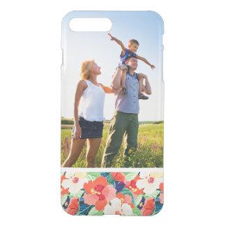 Custom Photo Colorful Hibiscus Pattern iPhone 8 Plus/7 Plus Case