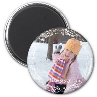 Custom Photo Create Your Own | 6 Cm Round Magnet