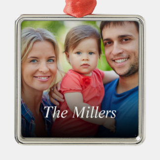Custom Photo Create Your Own Christmas Ornament