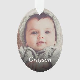 Custom Photo Create Your Own Ornament