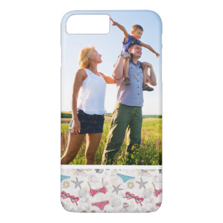 Custom Photo Cute Summer Abstract Pattern iPhone 8 Plus/7 Plus Case