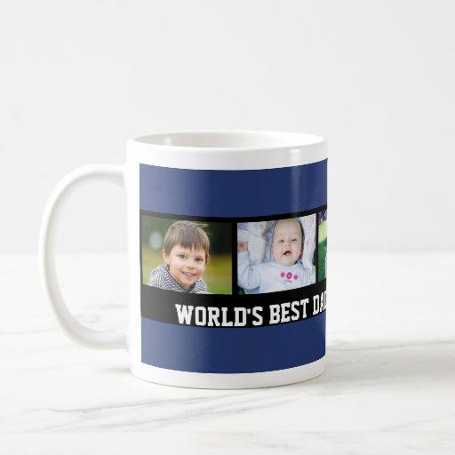 Custom Photo Father's Day mug