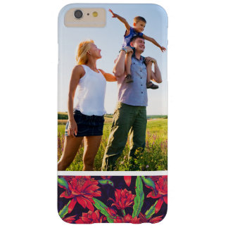 Custom Photo Flowers And Hummingbirds Barely There iPhone 6 Plus Case