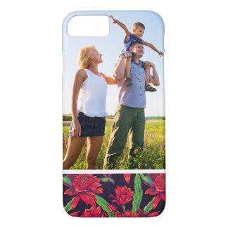 Custom Photo Flowers And Hummingbirds iPhone 8/7 Case