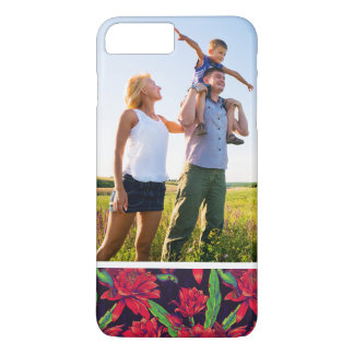 Custom Photo Flowers And Hummingbirds iPhone 8 Plus/7 Plus Case