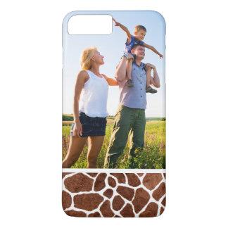 Custom Photo Giraffe spots iPhone 8 Plus/7 Plus Case