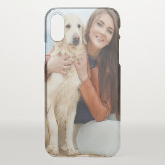 Custom Photo iPhone X Clearly™ Deflector Case