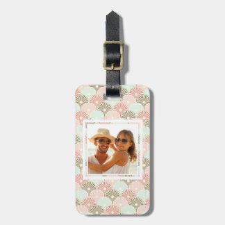 Custom Photo Japanese vintage pattern Luggage Tag