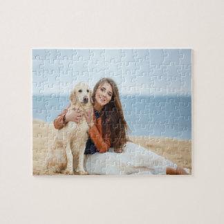 Custom Photo Jigsaw Puzzle Gift