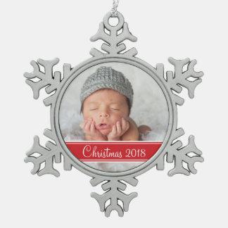 Custom Photo Keepsake Holiday Ornament