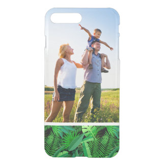 Custom Photo Leaves Of Tropical Palm Trees iPhone 8 Plus/7 Plus Case